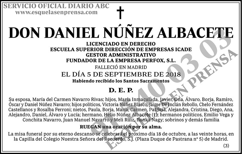 Daniel Núñez Albacete